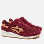 Кроссовки ASICS Gel-Lyte III Vegetan Pack Burgundy/Tan фото- 1