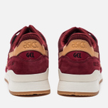 Кроссовки ASICS Gel-Lyte III Vegetan Pack Burgundy/Tan фото- 3