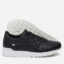 Кроссовки ASICS Gel-Lyte Leather Black/Black фото- 2