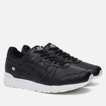 Кроссовки ASICS Gel-Lyte Leather Black/Black фото- 1