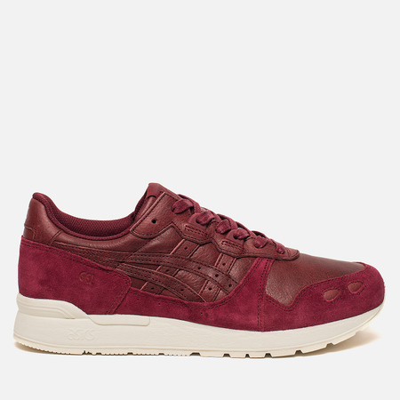 Кроссовки ASICS Gel-Lyte Leather Burgundy/Burgundy