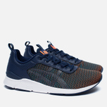 Кроссовки ASICS Gel-Lyte Runner Chameleoid Mesh Pack Black/Medieval Blue фото- 2