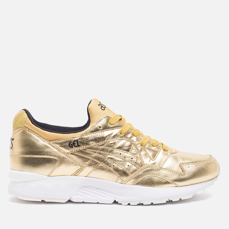 ASICS Gel-Lyte V Liquid Metal Pack Sneakers Gold/Gold