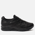 Кроссовки ASICS Gel-Lyte V Pure Pack Leather Triple Black фото- 0