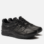Кроссовки ASICS Gel-Lyte V Pure Pack Leather Triple Black фото- 1