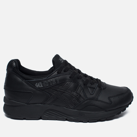 ASICS Gel-Lyte V Pure Pack Leather Sneakers Triple Black