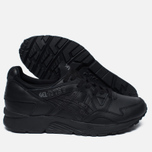 Кроссовки ASICS Gel-Lyte V Pure Pack Leather Triple Black фото- 2