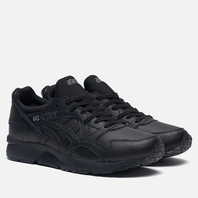 Кроссовки ASICS Gel-Lyte V Pure Pack Leather Triple Black