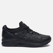 Кроссовки ASICS Gel-Lyte V Pure Pack Leather Triple Black фото- 3