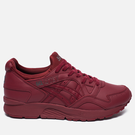ASICS Gel-Lyte V Pure Pack Leather Sneakers Triple Burgundy