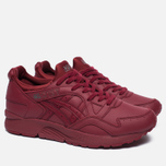 Кроссовки ASICS Gel-Lyte V Pure Pack Leather Triple Burgundy фото- 1