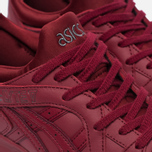 Кроссовки ASICS Gel-Lyte V Pure Pack Leather Triple Burgundy фото- 5