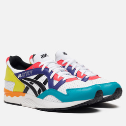 Кроссовки ASICS Gel-Lyte V White/Black/Multi-Color