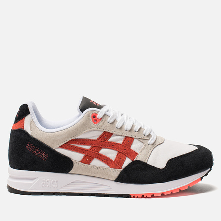 Кроссовки ASICS Gel-Saga White/Flash Coral