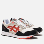 Кроссовки ASICS Gel-Saga White/Flash Coral фото- 2