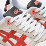 Кроссовки ASICS Gel-Saga White/Flash Coral фото- 6