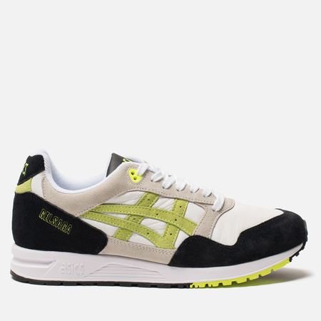 Кроссовки ASICS Gel-Saga White/Flash Yellow