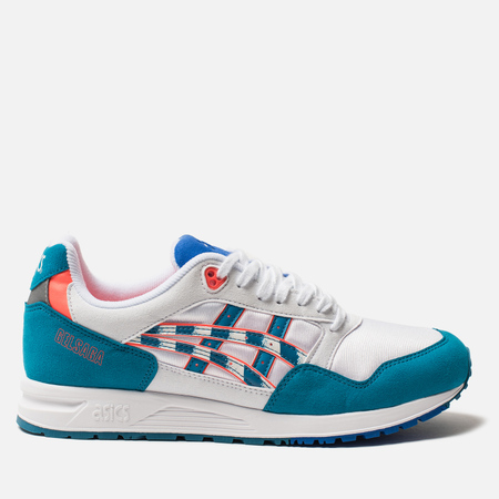 Кроссовки ASICS Gel-Saga White/Teal Blue