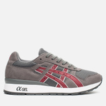 Кроссовки ASICS GT-II Grey/Burgundy фото- 0