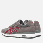 Кроссовки ASICS GT-II Grey/Burgundy фото- 2