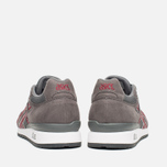 ASICS GT-II Sneakers Grey/Burgundy photo- 3