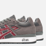 Кроссовки ASICS GT-II Grey/Burgundy фото- 7