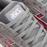 Кроссовки ASICS GT-II Grey/Burgundy фото- 5