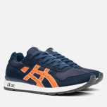 Кроссовки ASICS GT-II Navy/Orange фото- 1