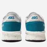Кроссовки ASICS HyperGel-Lyte White/Teal Blue фото- 3