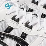 Кроссовки ASICS HyperGel-Lyte White/Teal Blue фото- 6