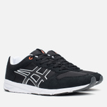 Кроссовки ASICS Shaw Runner Black/Light Grey фото- 1