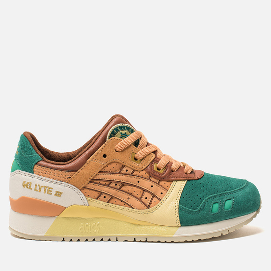Кроссовки ASICS x 24 Kilates Gel-Lyte III Shady Glade/Gold Earth
