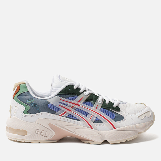 Кроссовки ASICS x HBX Gel-Kayano 5 OG White/Speed Red