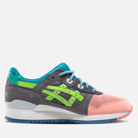 ASICS x Ronnie Feig Gel Lyte III Sneakers What The Feig Salmon/Cove