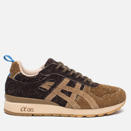 Кроссовки ASICS x Mita GT-II Squirrel Brown/Blue/Red