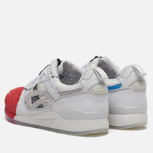 Кроссовки ASICS x Mita Sneakers Trico 2020 Gel-Lyte III OG Monaco Blue/Directoire Blue фото- 2