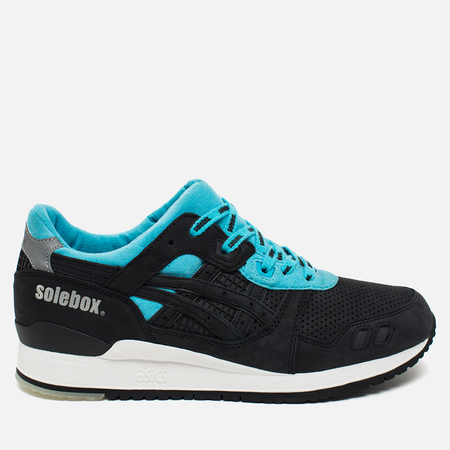 Кроссовки ASICS x Solebox Gel-Lyte III Blue Carpenter Bee Black/Blue/White