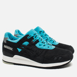 Кроссовки ASICS x Solebox Gel-Lyte III Blue Carpenter Bee Black/Blue/White фото- 1