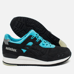 Кроссовки ASICS x Solebox Gel-Lyte III Blue Carpenter Bee Black/Blue/White фото- 2