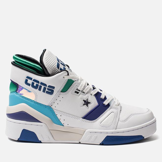 Кроссовки Converse x Don C ERX 260 Mid White/Court Purple/Bold Jade