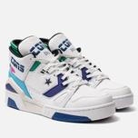 Кроссовки Converse x Don C ERX 260 Mid White/Court Purple/Bold Jade фото- 1