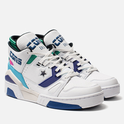 Кроссовки Converse x Don C ERX 260 Mid White/Court Purple/Bold Jade