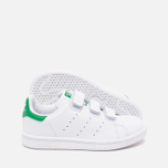 Детские кроссовки adidas Originals Stan Smith CF C White/Green фото- 2