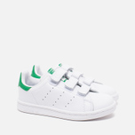 Детские кроссовки adidas Originals Stan Smith CF C White/Green фото- 1