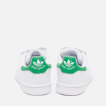 Детские кроссовки adidas Originals Stan Smith CF C White/Green фото- 3