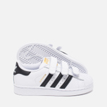 Детские кроссовки adidas Originals Superstar Foundation CF C White/Black фото- 2