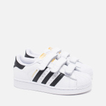 Детские кроссовки adidas Originals Superstar Foundation CF C White/Black фото- 1