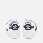 Детские кроссовки adidas Originals Superstar Foundation CF C White/Black фото- 3