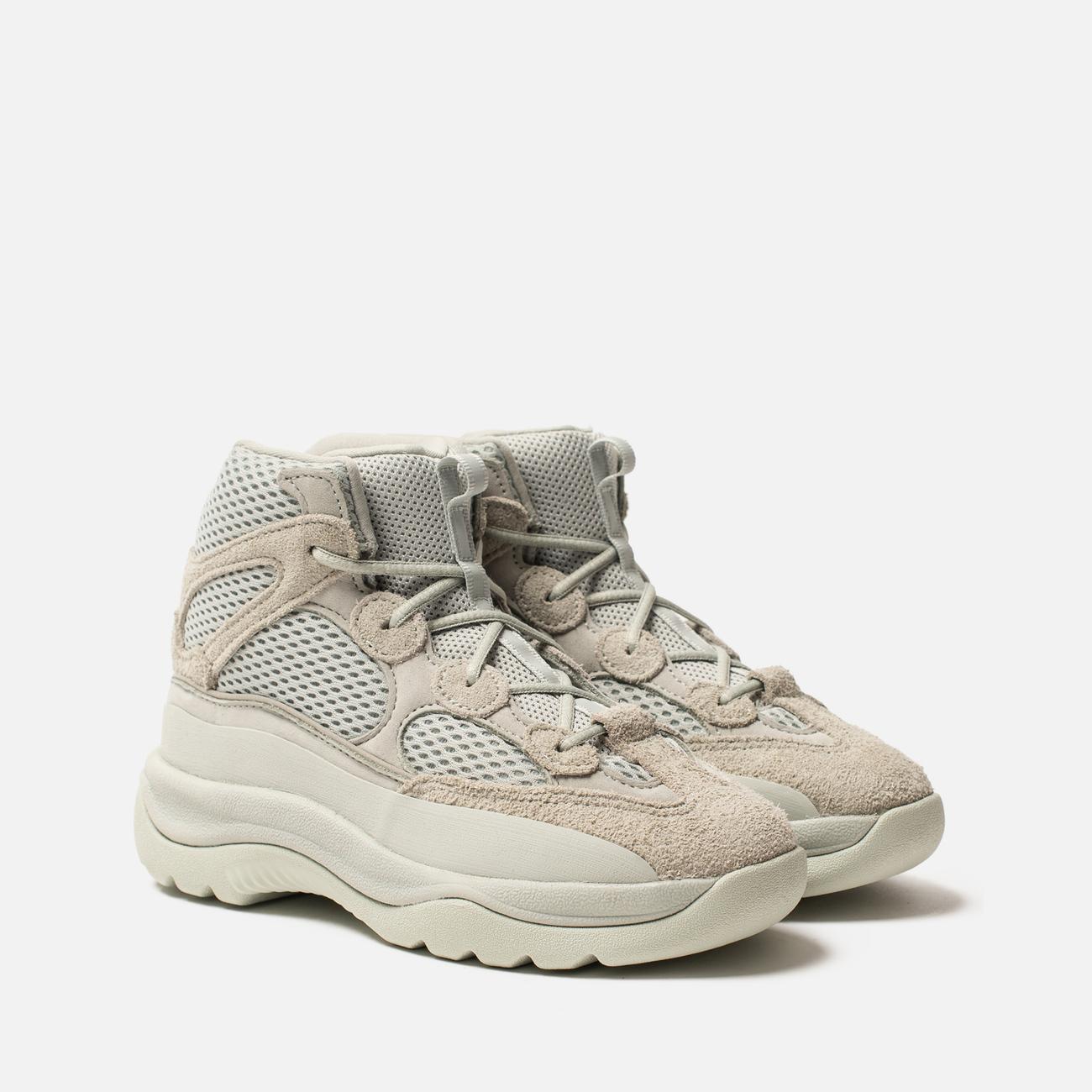 Кроссовки детские adidas Originals YEEZY Desert Boot Kids Salt/Salt/Salt