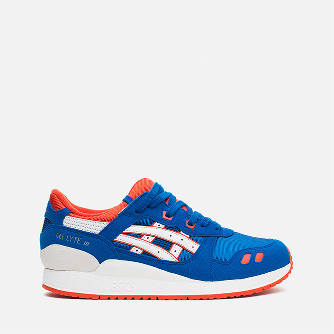 ASICS Gel Lyte III GS Teen Sneakers Strong Blue/White